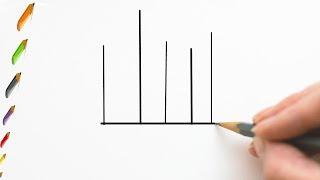 Sketching for beginner hair Brushes | Kangi ki chitrakari kaise karte hai