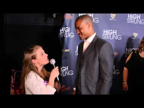 Marcus Mitchell Interview at High Strung Movie LA Premiere