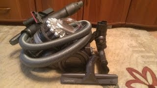 Unboxing&testing DYSON DC22 Motorhead (Baby)