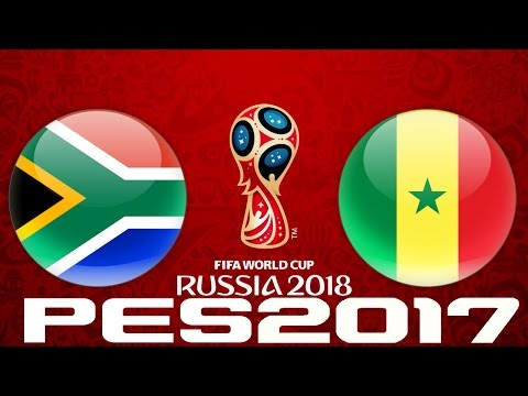 2018 WORLD CUP QUALIFIERS - SOUTH AFRICA v SENEGAL - PES 2017