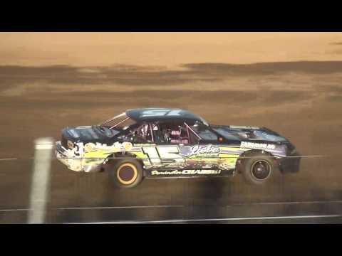 IMCA Stock Car Heats Independence Motor Speedway 7/29/17