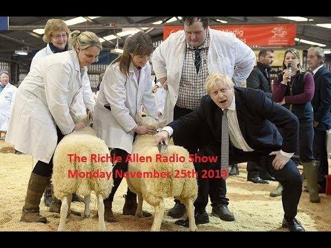 The Richie Allen Radio Show - Monday November 25th 2019