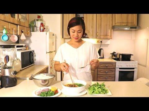 Cách nấu Bún Bò Nha Trang
