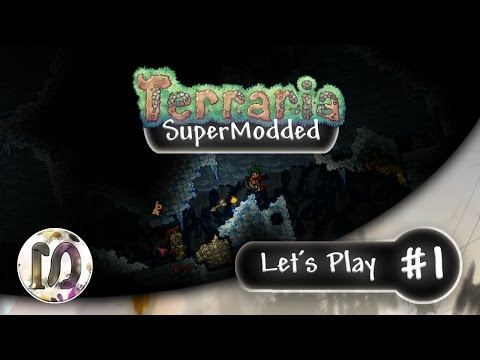 Terraria 1.3.4 - Let's Play #1 - SuperModded , Thorium, Calamity, Tremor