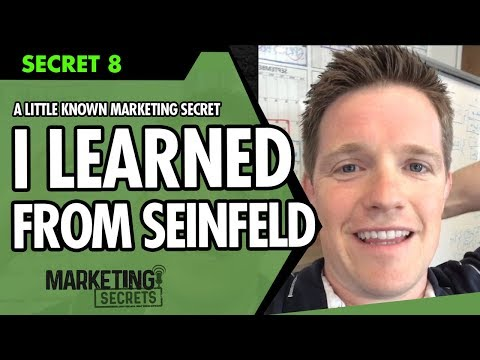 Secret #8: A Little Known Marketing Secret I Learned From Seinfeld... (Has Nothing To Do With Email)