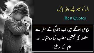 Best Urdu Quotes About Life