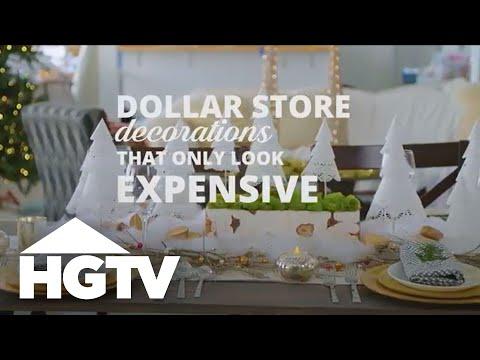 3 DIY Dollar Store Holiday Decorations - HGTV