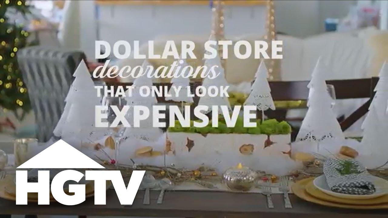 3 Diy Dollar Holiday Decorations Hgtv