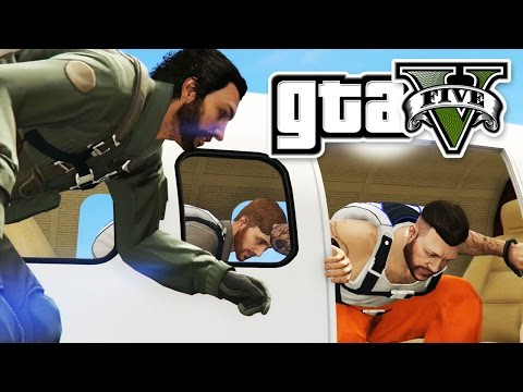 GTA 5 HEIST - PRISON BREAK HEIST - E27 | (Grand Theft Auto 5 Online Gameplay PC) Pungence