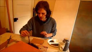 The making of my Star Wars Rebel Alliance plaque part 1 painting it...