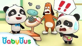 Ngày giảm béo của gấu trúc Kiki | Hoạt hình thiếu nhi vui nhộn | BabyBus cartoon thumbnail