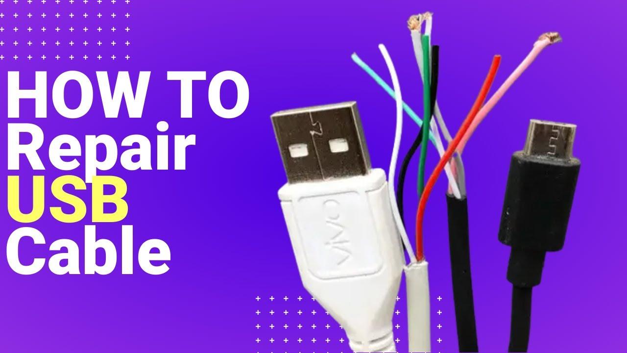 how to repair usb cable 100 fix  [ 1280 x 720 Pixel ]