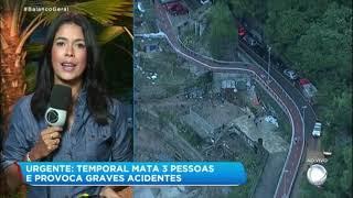 Обложка Temporal Arrasta Carros E Mata Três Pessoas No Rio De Janeiro