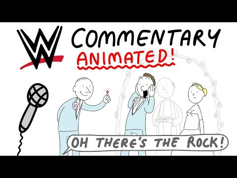 WWE Commentary, Animated!