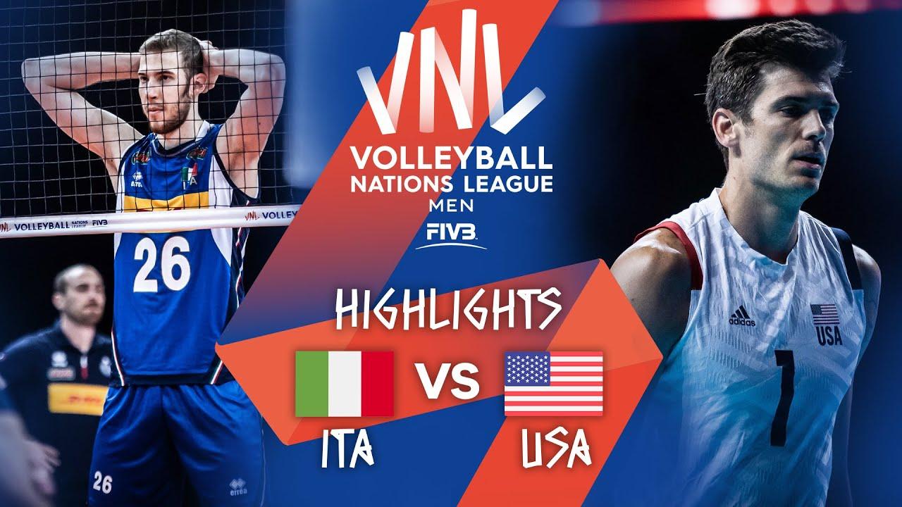 Download ITA vs. USA - Highlights Week 4 | Men's VNL 2021