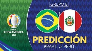 BRASIL vs PERÚ | Copa América 2021 - Previa, Predicción y Pronóstico [En Vivo]