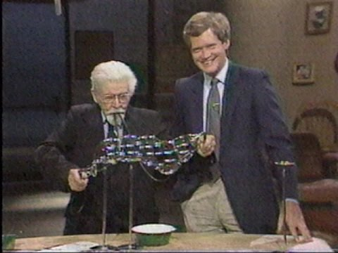 June 28, 1984 Bubble Master Eiffel Plasterer on David Letterman