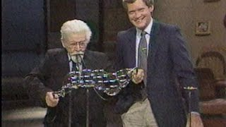 June 28, 1984 Bubble Master Eiffel Plasterer on David Letterman