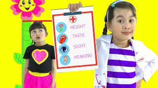 Abby Hatcher goes to Dr.McStuffins and learns health checks. Doctors stories for kids.