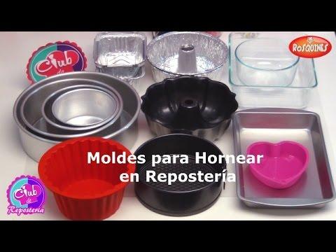 Moldes para hornear en reposteria tipos de moldes para - Moldes reposteria ...