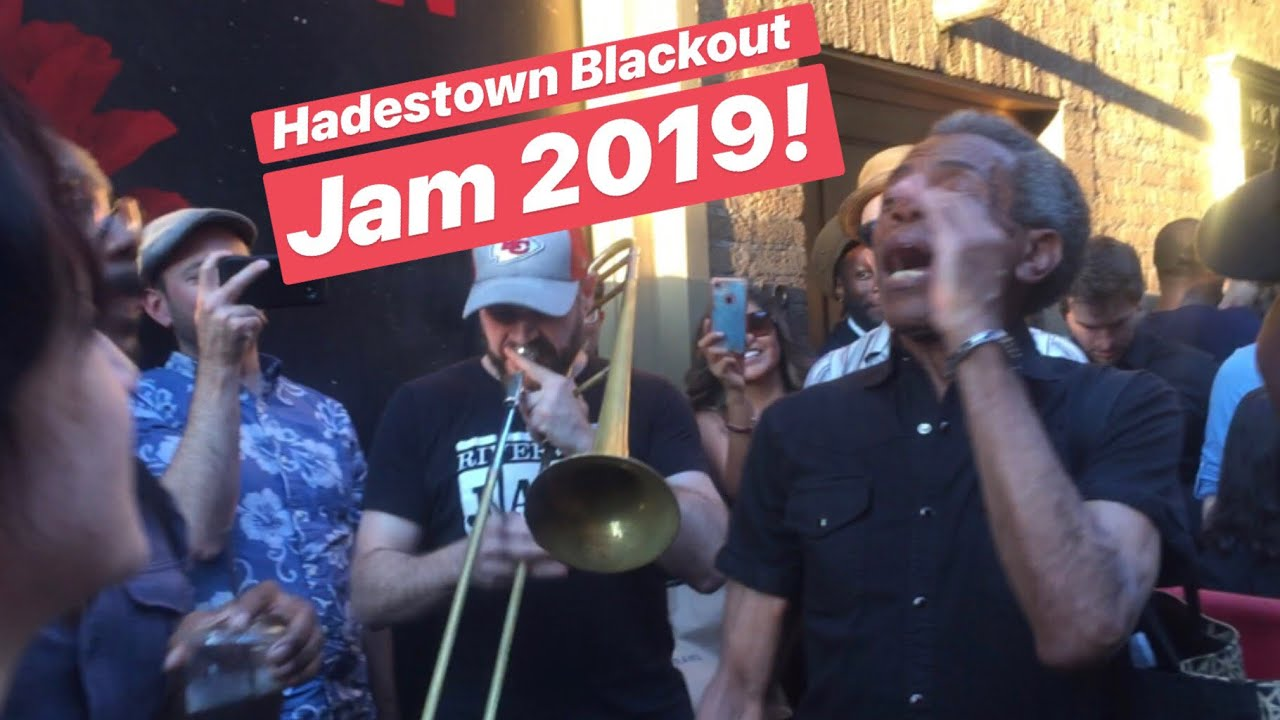 Hadestown Full Blackout Jam 2019!