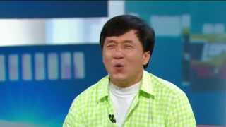 Jackie Chan Sings A Duet With George