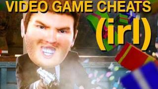 video game cheats in real life