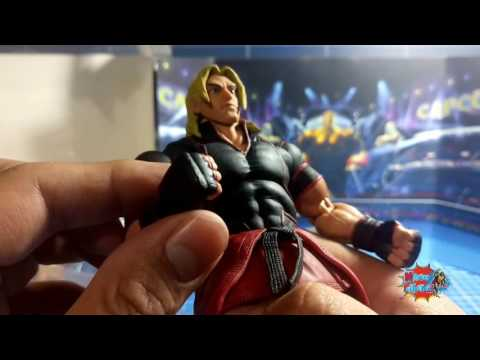 Magios Initiative-Review-Street Fighter V Ken by Storm Collectibles. #graduado