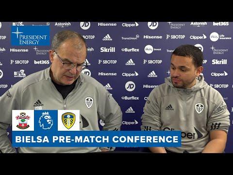 Koch and Klich updates, fans returning | Marcelo Bielsa pre-match | Southampton v Leeds United