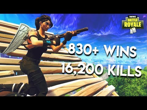 """""""TOP CONSOLE PLAYER"""" 830+ WINS TOP FORTNITE PLAYS w/ JARS"""