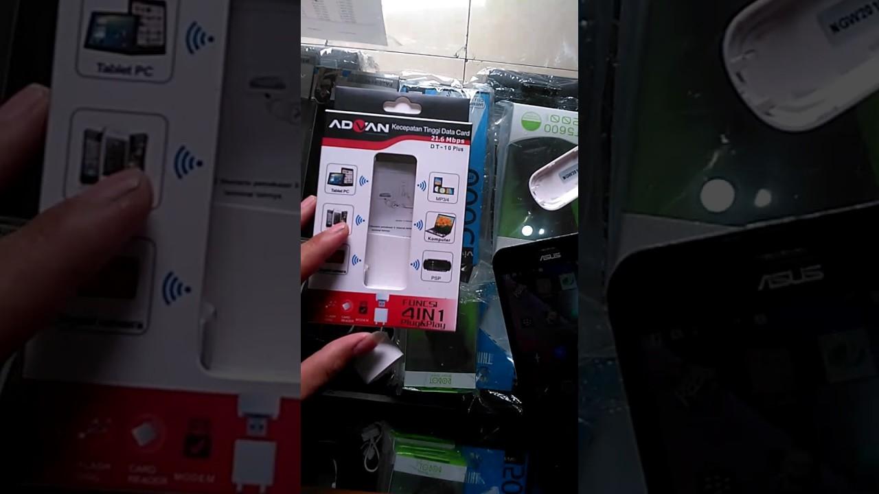 Cara Mengunakan Modem Dt10 Plus Pake Power Bank Youtube 3g Advance All Operator  Bagus