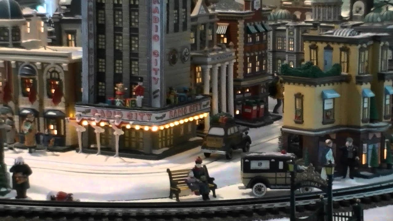 Department 56 Christmas In The City Display 06 - YouTube