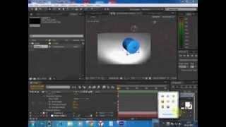 Adobe After Effects CS6 урок  #3 3D объект
