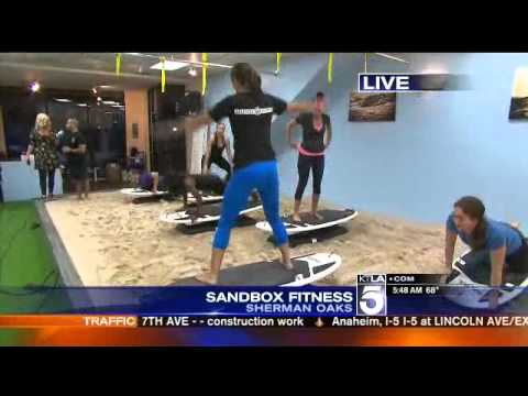 Surfset Sandbox Fitness and Training Gym in the San Fernando Valley