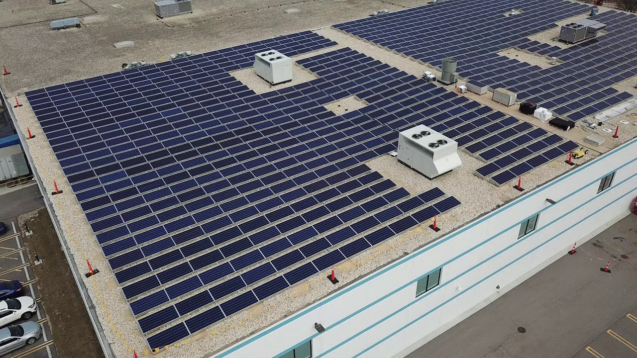 Antunes Installs Solar Panels on Carol Stream Headquarters