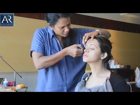 Actress Bhavana Make Up Video and Photoshoot   AR Entertainments