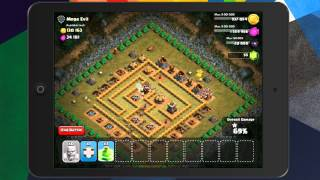 Clash of Clans - Level 42 (200 Barbarians) Mega Evil