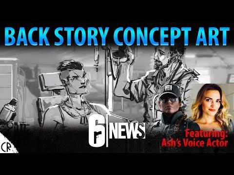 Story based Concept Art - Six Invitational - 6News - Tom Clancy's Rainbow Six