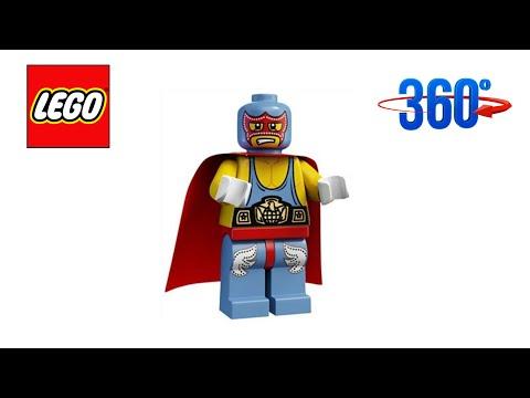 UNBOXING LEGO 8683 SERIE 1 FIGURA 10 SUPER WRESTLER