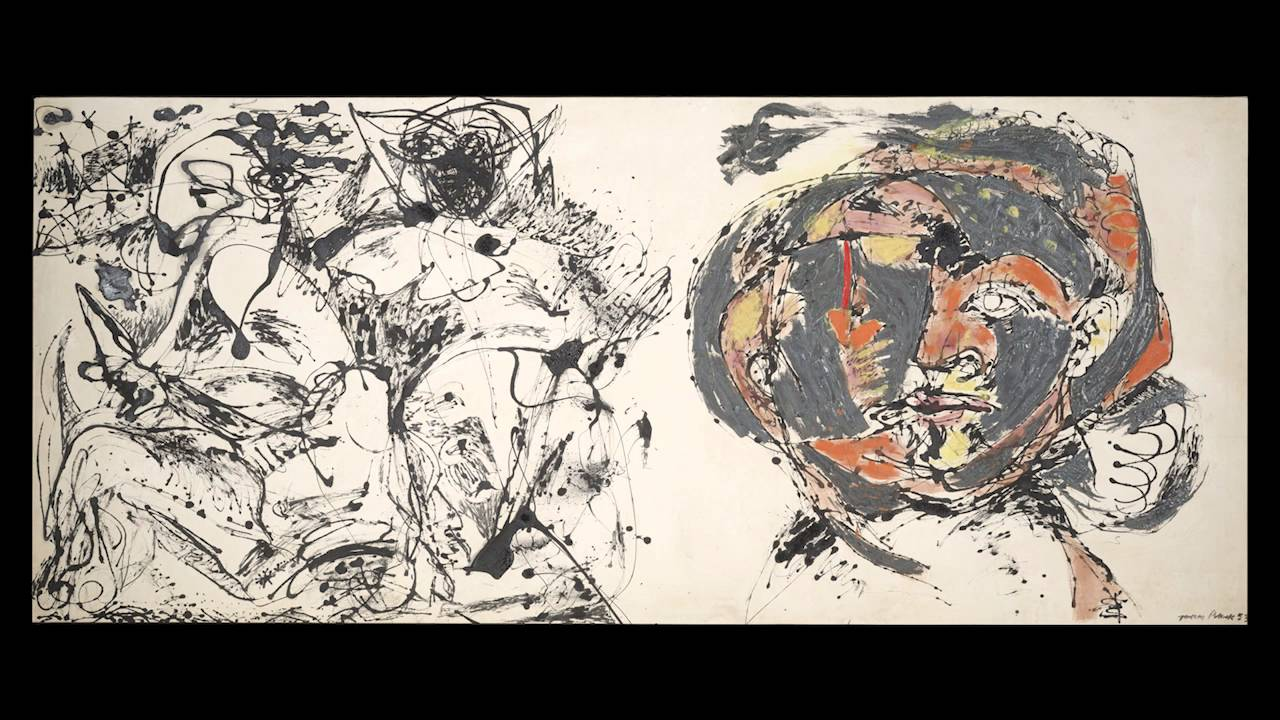 "jackson pollock interview 2018-7-10  colby college has acquired what its museum director describes as a ""turning point"" painting by jackson pollock,  interview tuesday he continued."