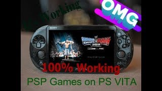 How to Install PSP Games on PS VITA    Latest 2018 (100% working ) on any PS VITA