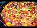 طريقة عمل البيتزا طريقة عمل البيتزا بالهوت دوج او السوسيس | اكل ماما فيديو من يوتيوب