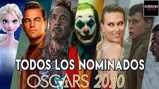 Todos Los Nominados Oscar 2020   Nominaciones Oscar 2020   Curiosifilms