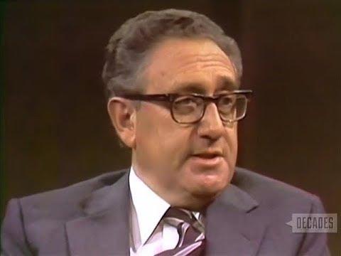Henry Kissinger Interview on The Dick Cavett Show 1979