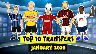 ✍️Top 10 Transfers - January 2020!✍️ Done deals!