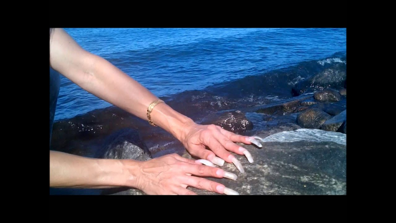 Very Long Nails By The Lake !! - YouTube