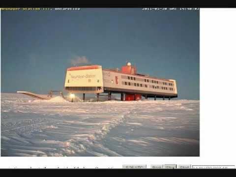 Strange Things Happening At Neumayer Station, Antarctica