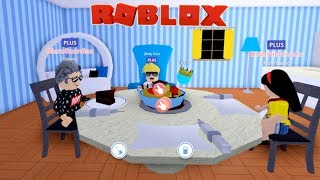 Granny visits Baby Alan and Mom in Meep City! Roblox Role Play