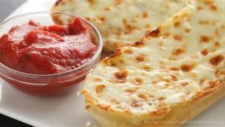 Как сделать сырно-чесночный хлеб | Простейший рецепт