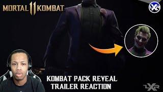 """JOKER?!? IN MORTAL KOMBAT?!?!"" - Mortal Kombat 11 - OFFICIAL Kombat Pack Reveal Trailer Reaction"